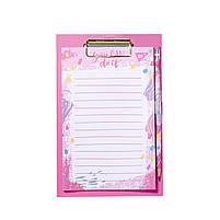Бумага для заметок YES To Do HOTCH POCH, клипборд с магнитом, карандаш, блок 52 листа  код:170260, фото 4