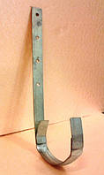 Кронштейн оцинкованный желоба водосточного 110 мм.