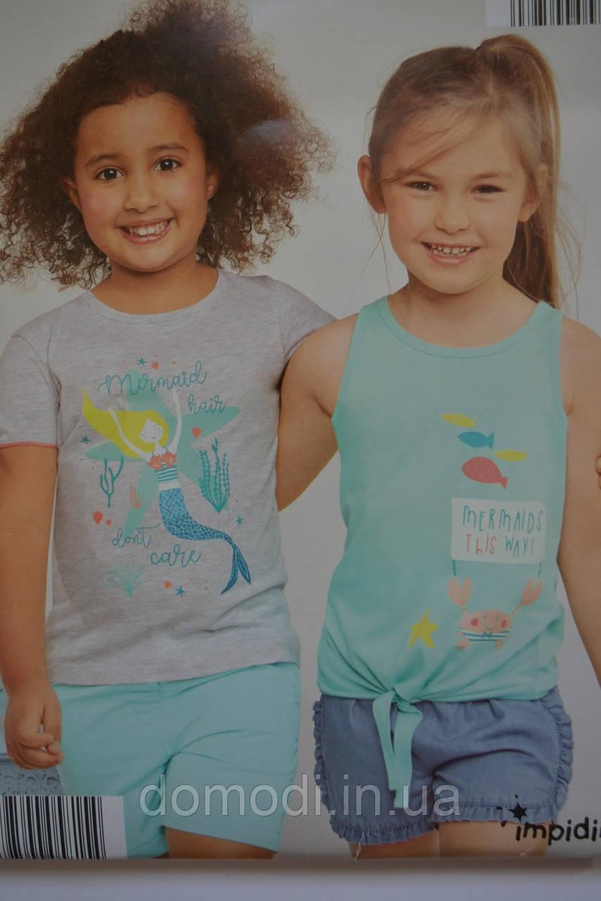 Набір крутих футболок Impidimpi для дівчат (бавовна)