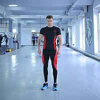 Компрессионная Одежда для спортзала fitU Armm red 2.0 XL