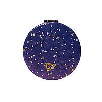 Зеркало YES компактное VIOLA, круглое, 7,5 см, фольга код:707303, фото 3
