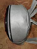 (Новый с паетками)Женский рюкзак искусств кожа качество городской спортивный стильный опт, фото 3