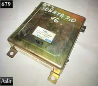 Электронный блок управления (ЭБУ) Hyundai Sonata 3.0 V6 91-93г (G6AT)