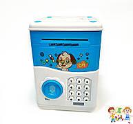 Электронная копилка / Детский сейф с отпечатком пальца и кодовым замком «Электронный сейф»