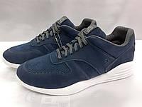 Стильные осенние-весенние кроссовки из нубука Bertoni
