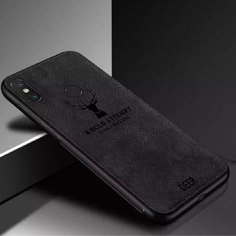Захисний чохол Deer для Xiaomi Mi A3 (CC9E) з вологовідштовхуючим покриттям Black, фото 2