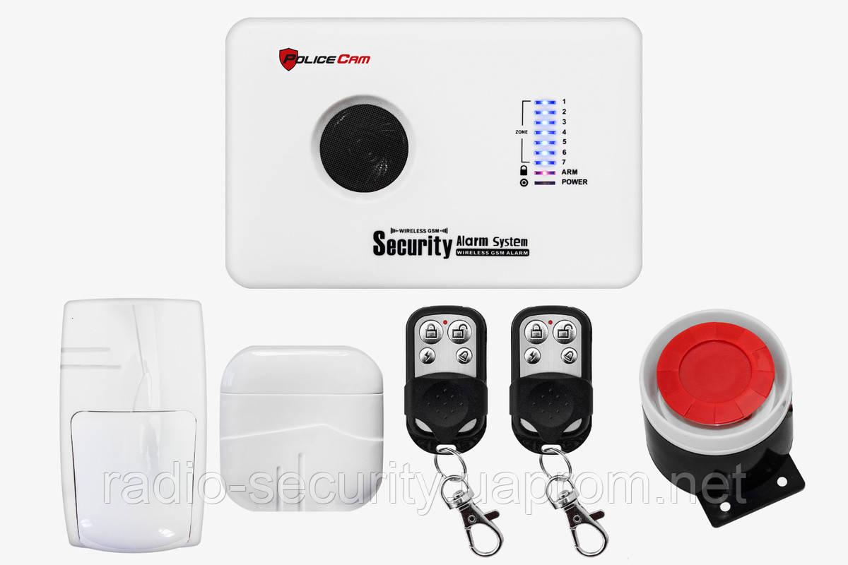 Комплект бездротової GSM сигналізація 10C Prof PoliceCam
