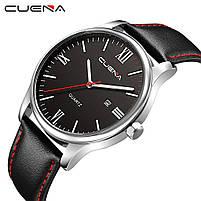 Часы наручные мужские CUENA Classic G4 черный, фото 2