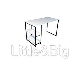 Офисный стол в стиле LOFT (White)