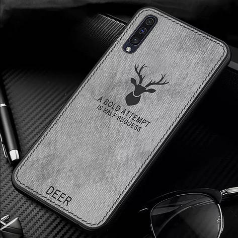 Защитный чехол Deer для Xiaomi Mi A3 (CC9E) с влагоотталкивающим покрытием Gray, фото 2