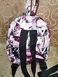 РАСПРОДАЖА Рюкзак женская Искусств кожа Принт красивый маленький городской стильный только оптом, фото 3