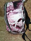 РАСПРОДАЖА Рюкзак женская Искусств кожа Принт красивый маленький городской стильный только оптом, фото 4