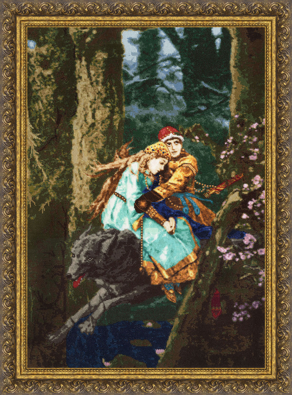 Вышивки крестом картины васнецова