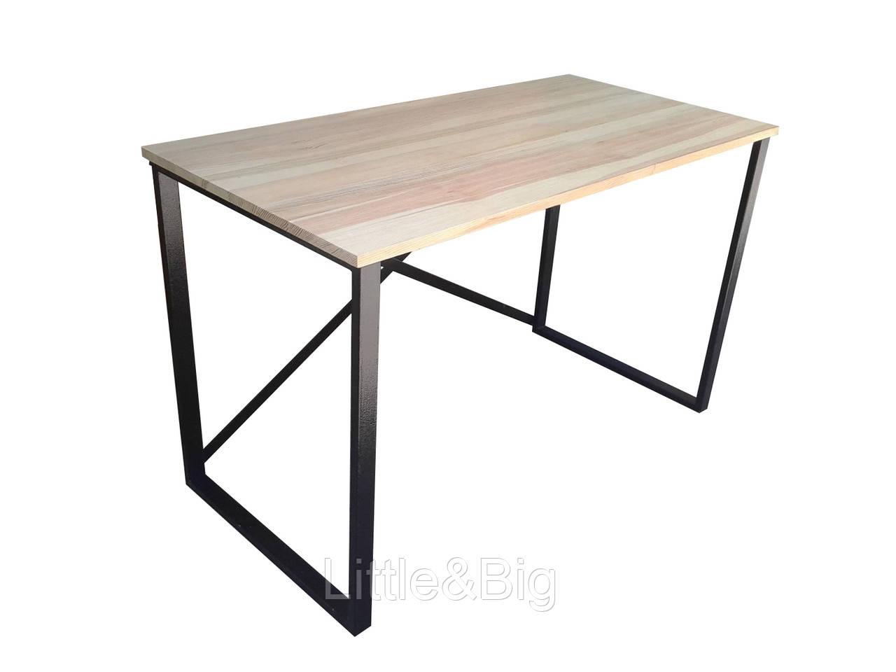 Деревянный стол в стиле LOFT (Сосна)