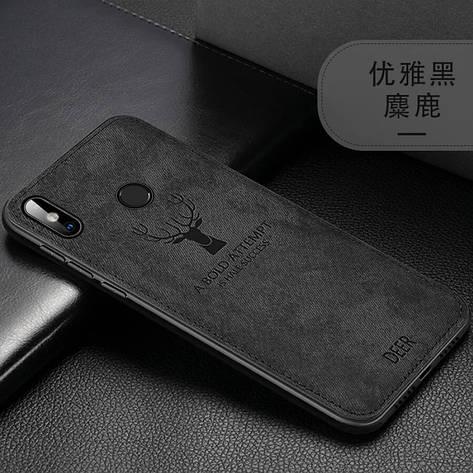 Защитный чехол Deer для Xiaomi Redmi Note 8 с влагоотталкивающим покрытием Black, фото 2