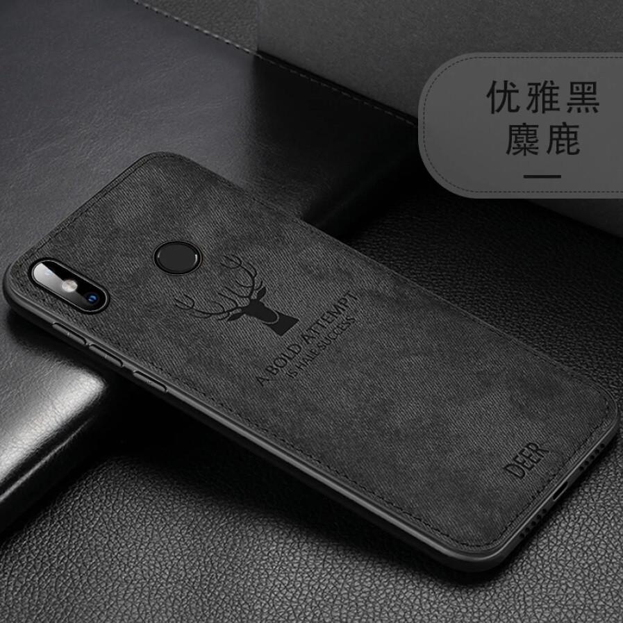 Защитный чехол Deer для Xiaomi Redmi Note 8 с влагоотталкивающим покрытием Black