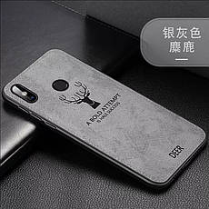 Защитный чехол Deer для Xiaomi Redmi Note 8 с влагоотталкивающим покрытием Black, фото 3