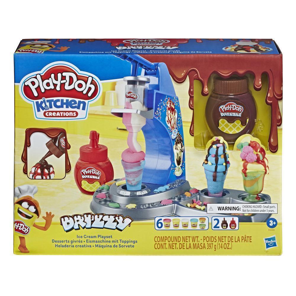 Ігровий набір Hasbro Play-Doh Морозиво з глазур'ю (E6688)