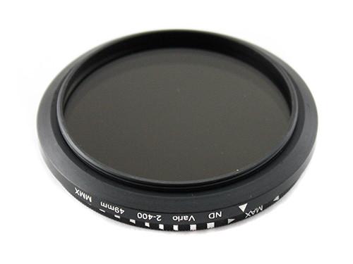 ND фильтр переменной плотности ND2-ND400, 49мм