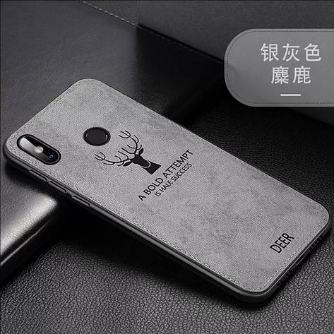 Защитный чехол Deer для Xiaomi Redmi Note 8 с влагоотталкивающим покрытием Gray, фото 2