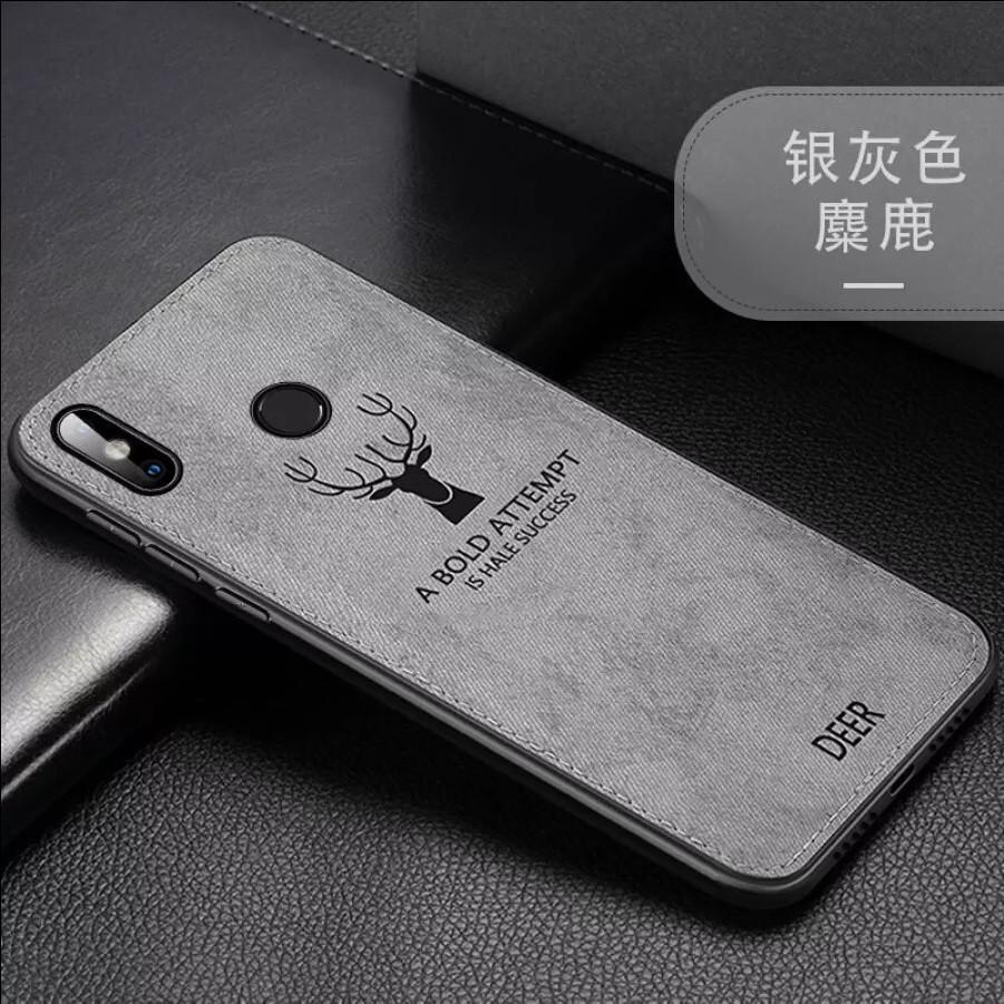 Защитный чехол Deer для Xiaomi Redmi Note 8 с влагоотталкивающим покрытием Gray