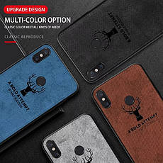 Захисний чохол Deer для Xiaomi Redmi Note 8 з вологовідштовхуючим покриттям Gray, фото 3