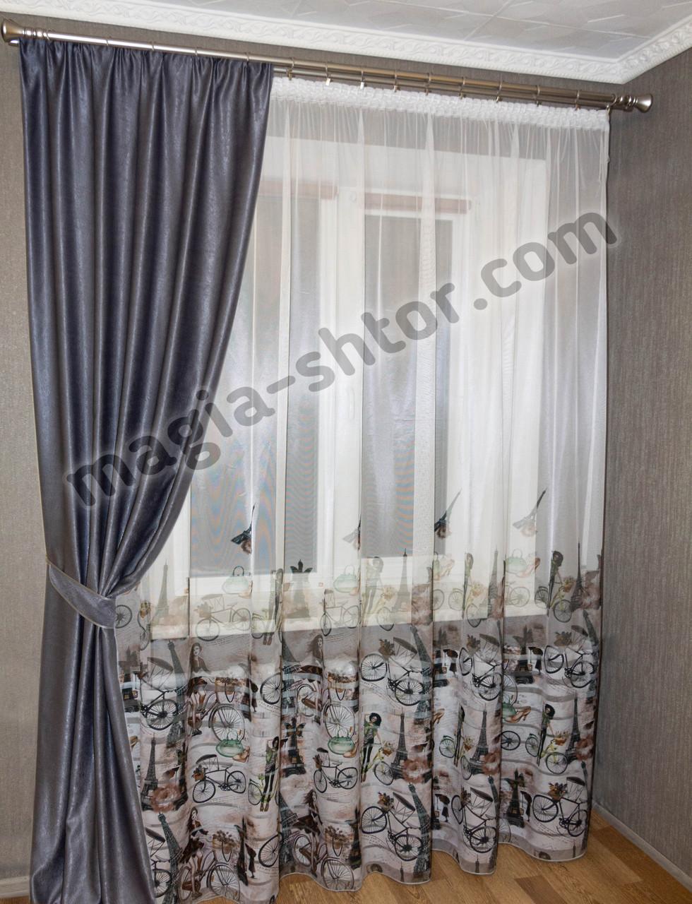 Готовая тюль в спальню