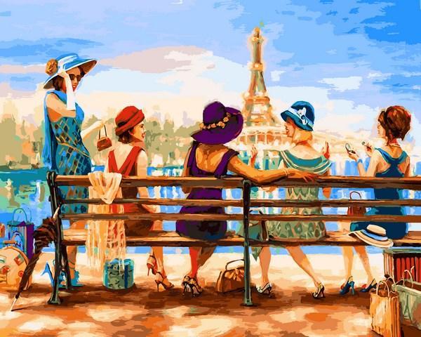 Картина по номерам Q2223 Девичник, 40x50 см., Mariposa