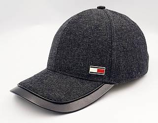 Мужская демисезонная кепка Klaus  Полушерсть с Отделкой козырька Cветло-серая  (395 МД) L(56-57)