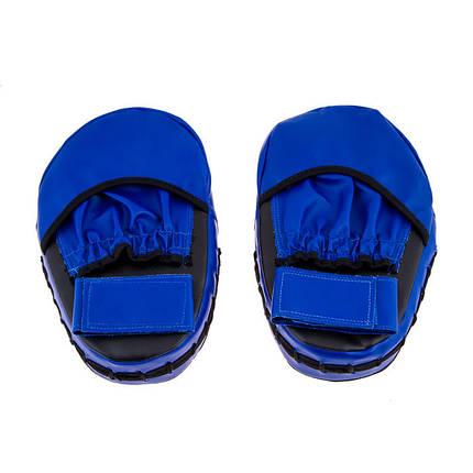 Лапа малая NoFightLimit PVC сине-черная, фото 2
