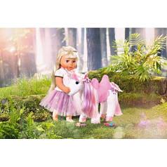 Интерактивная игрушка BABY BORN - СКАЗОЧНЫЙ ЕДИНОРОГ свет Zapf 828854