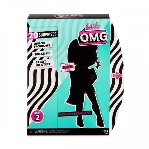 """Игровой набор с куклой L.O.L. SURPRISE! серии """"O.M.G"""" S2 - ЛЕДИ-НЕЗАВИСИМОСТЬ (с аксессуарами) 565130"""