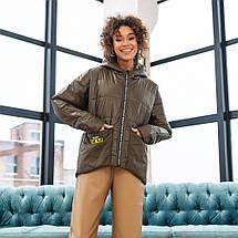 Женская демисезонная куртка  М-202, фото 3