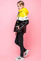 Демисезонная стильная куртка  на мальчика VKM-7, фото 2
