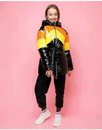 Стильная демисезонная куртка для девочки VKD-22, фото 2