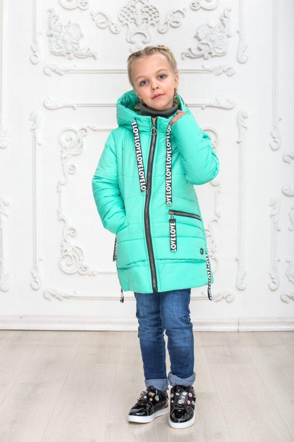 """Демисезонная куртка на девочку  """"Вероника"""" р-ры 116-146"""