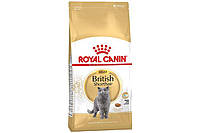 Royal Canin British Shorthair Adult сухой корм для котов породы британская короткошерстная от 12 месяцев 10 кг