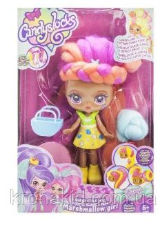 """Лялька """"Candylocks"""" з морозивом / лялька Кендилокс з волоссям з солодкої вати - 3 види: Кейт, Кармелла Сенді, фото 2"""