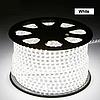 Светодиодная лента в силиконе 220В 60LED белый холодный IP65