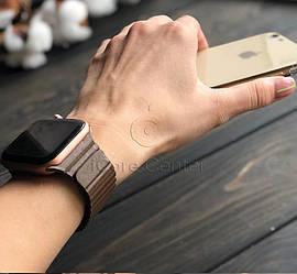 Ремешок Leather loop for Apple Watch 38 / 40mm Brown (Коричневый)