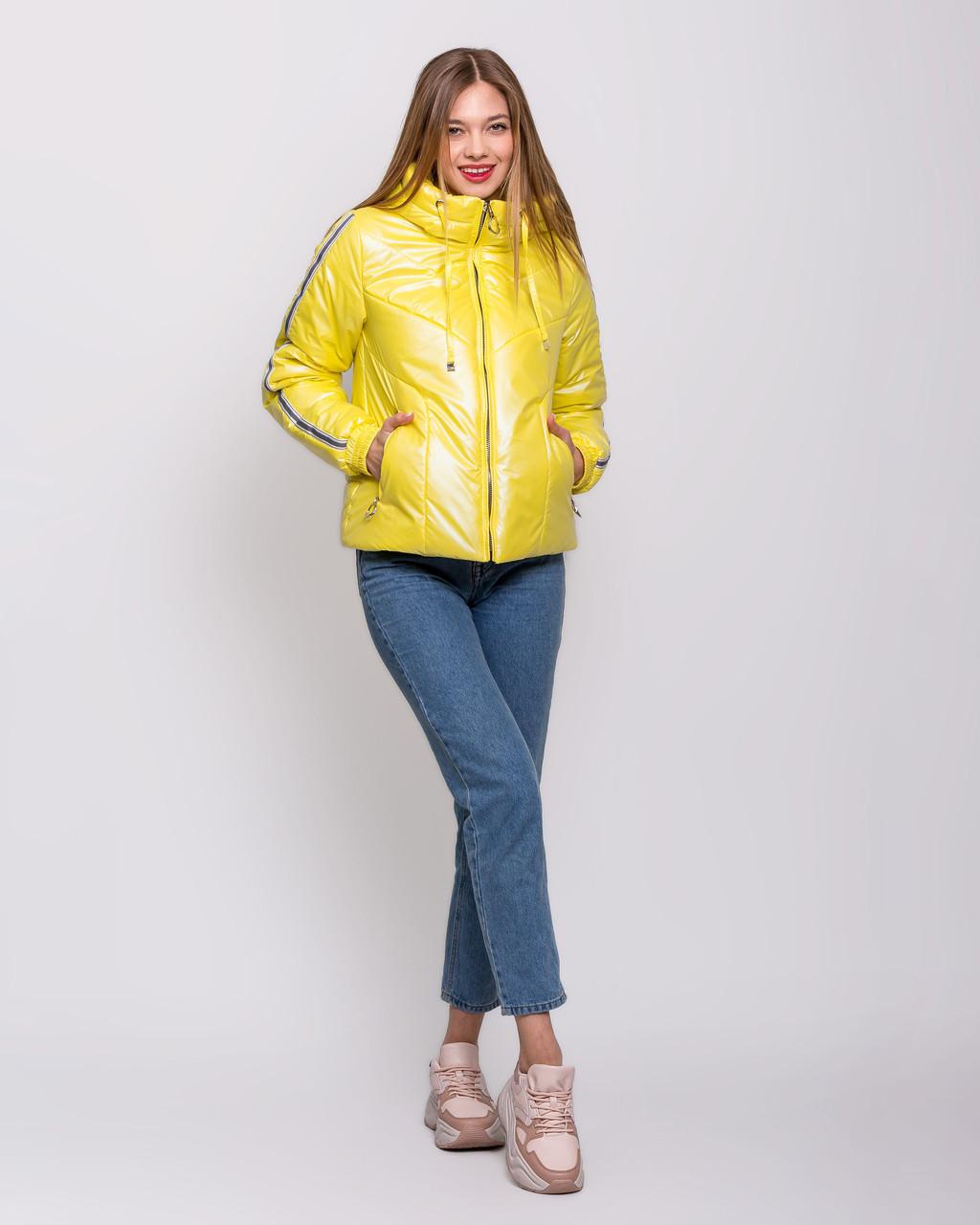 Модна куртка перламутр 42-54 Весна 2020