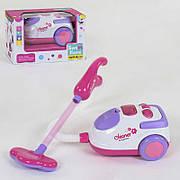 """Детский игрушечный пылесос A5936 с эффектами, работает от батареек, собирает """"мусор"""""""