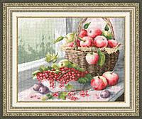 """Набор для вышивания крестом """"Яблочный спас"""""""