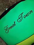 (27*20*9)Женский рюкзак GREAT-TOMN искусств. кожа с ткань1000D качество городской стильный Популярный опт, фото 7