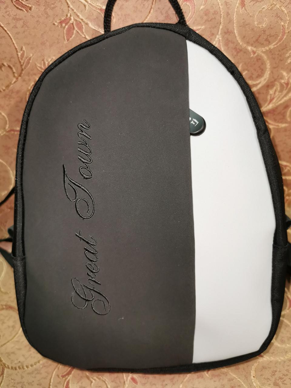 (27*20*9)Женский рюкзак GREAT-TOMN искусств. кожа с ткань1000D качество городской стильный Популярный опт