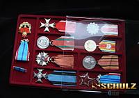 Планшет на 9 (8+1) наград и медалей + прозрачный футляр Schulz Польша