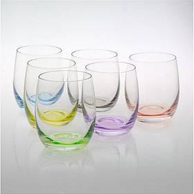 Набор стаканов Bohemia Rainbow 300 мл 6 шт 25180 D4662 300 BOH