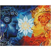 Алмазная живопись Никитошка День и ночь (GJ757) 40 х 50 см