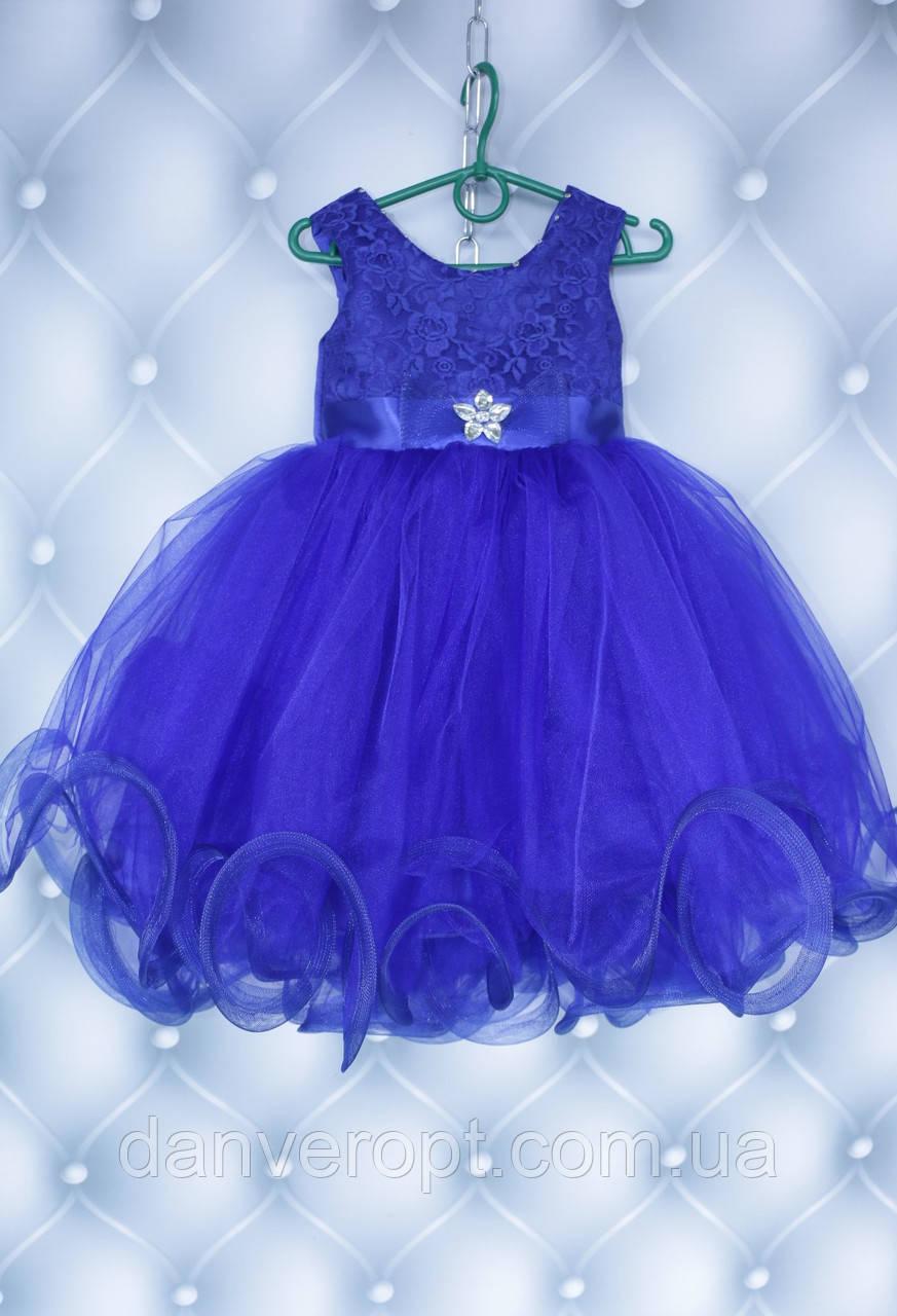 Платье детское бальное модное с фатином на девочку 3-4 года купить оптом со склада на 7км Одесса