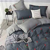 Комплект постельного белья с перчиками. хлопковый набор.В наличии полуторка, двухспалка, евро,макси,семейный,